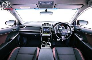 2015 Toyota Camry Atara SX Review Canada Interior