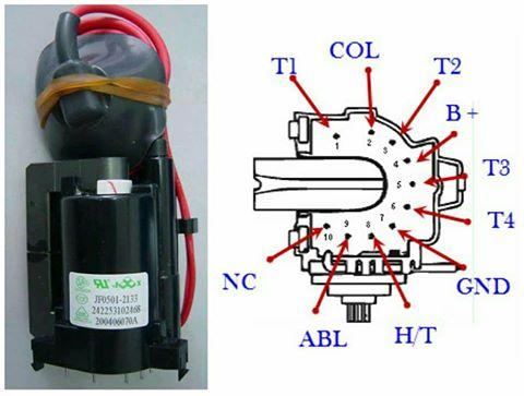 سمير حسانين لصيانة الأجهزة الالكترونية : Flyback Transformer