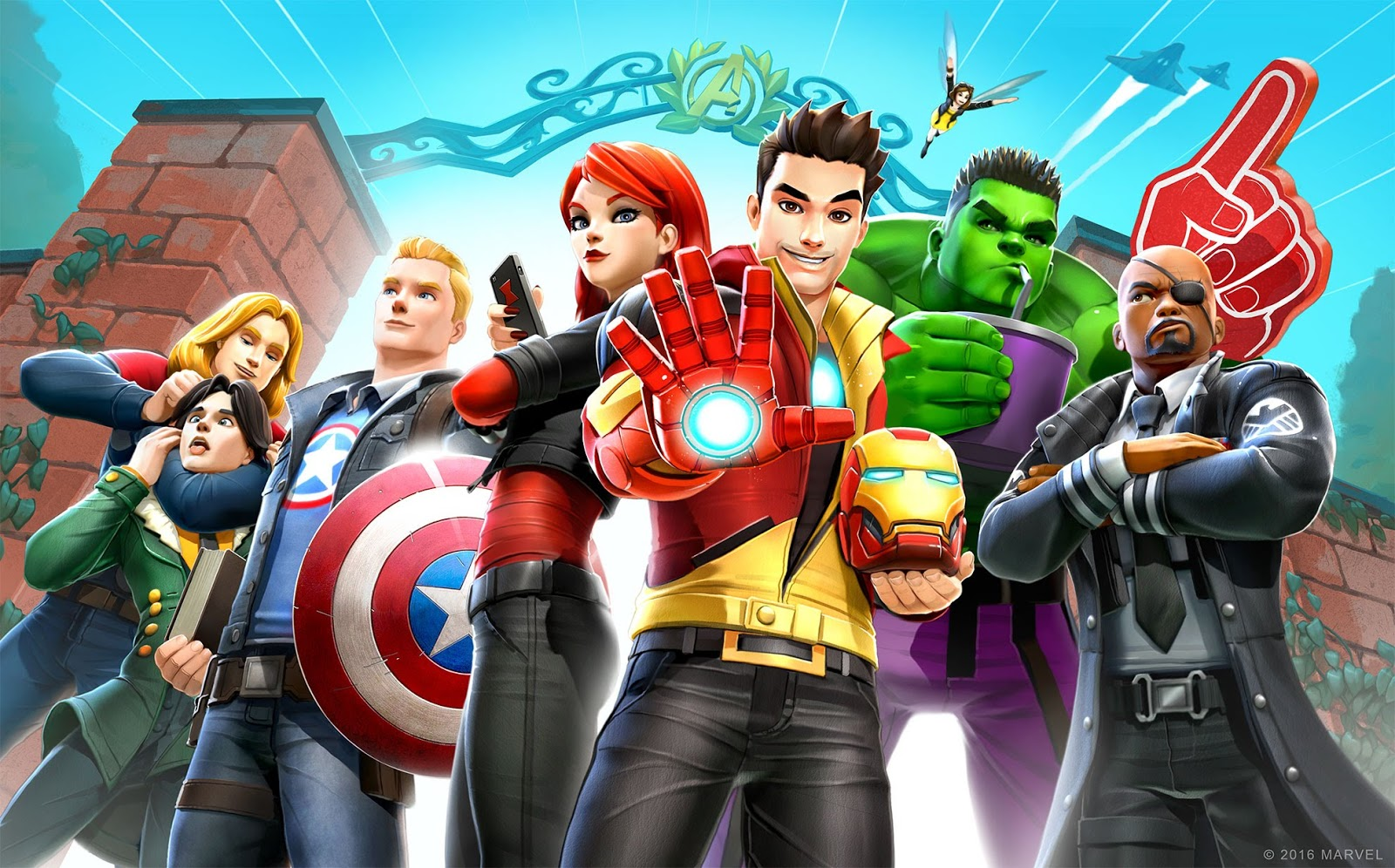 Marvel Avengers Academy Game Apps For Laptop, Pc, Desktop ...
