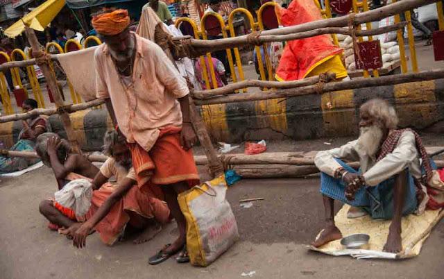 Pobreza en Varanasi