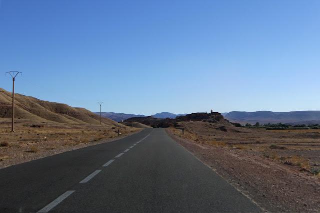 Estado de las carreteras en el sur de Marruecos