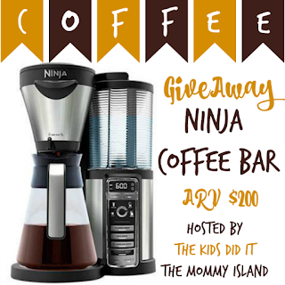 Enter the Ninja Coffee Bar Giveaway. Ends 3/31
