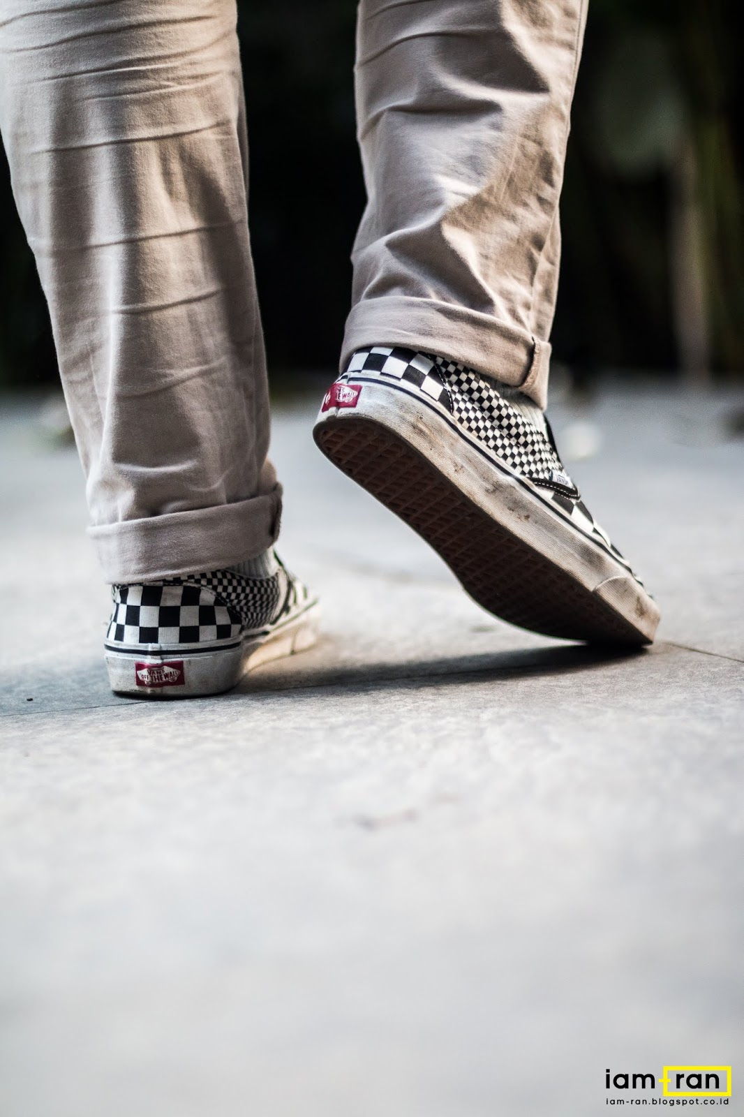 Arfan Okky on feet   Sneakers   Vans Classic Slip on Mix Checkerboard Photo  by   iam.ran06 f55165f0d