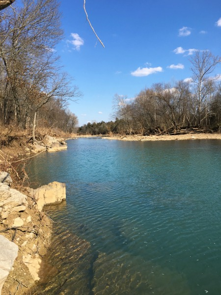 "The ""Wreck Hole"" Swimming Hole in West Fork, AR"