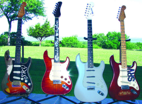 srv guitar collection auction friday strat stratocaster srv guitar collection auction friday strat 235