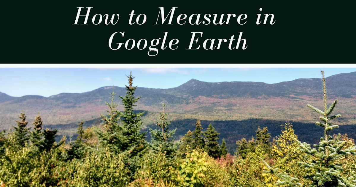 Free Technology for Teachers: How to Measure Distances & Share Google Earth Views