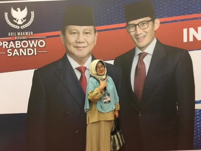 Dimotori Putri Bung Tomo, Alumni Moestopo Dukung Prabowo-Sandi
