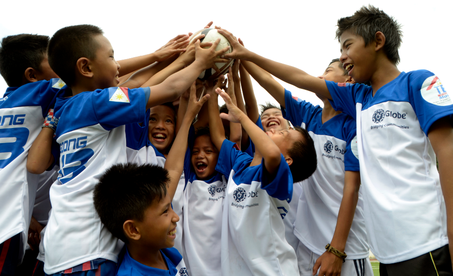 Globe Football Para sa Bayan Mini Fest