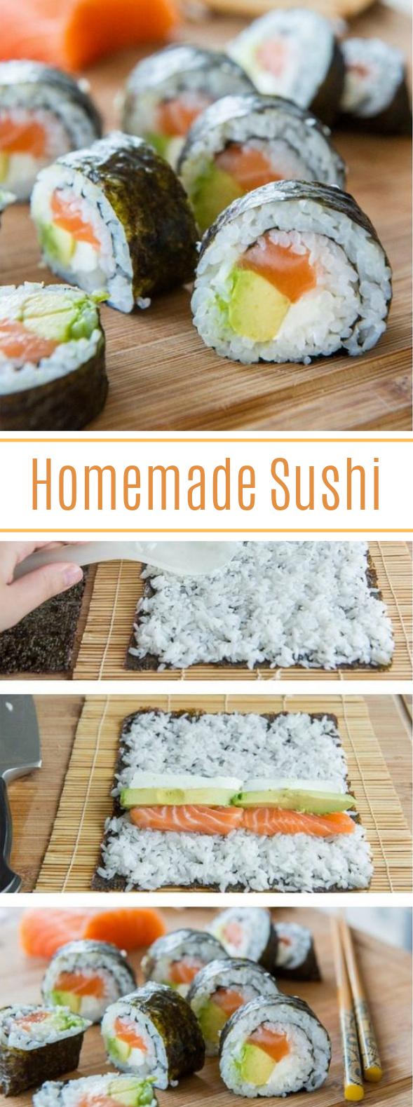 Homemade Sushi #japanese #dinner