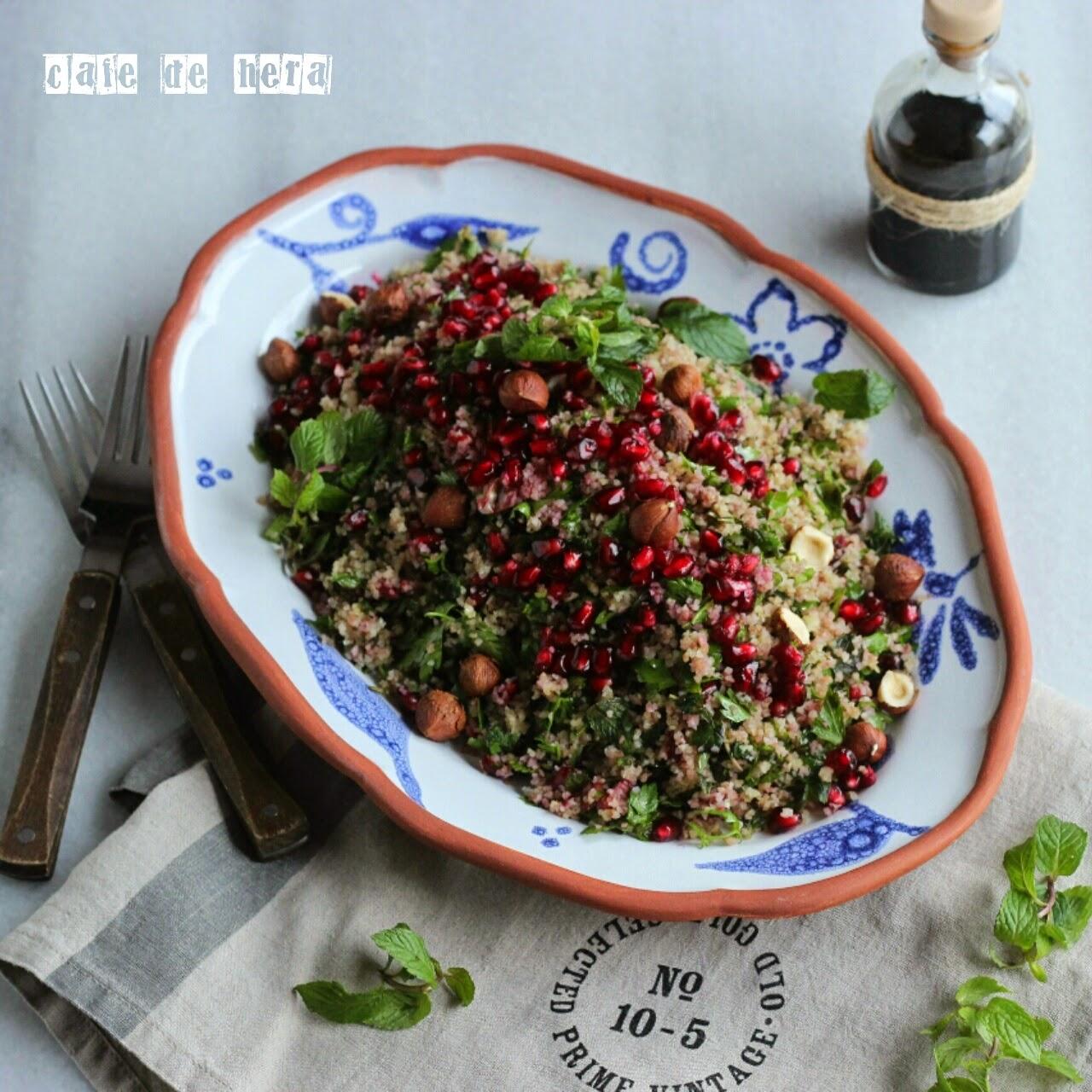 Narlı Buğday Salatası Tarifi – Salata Tarifleri