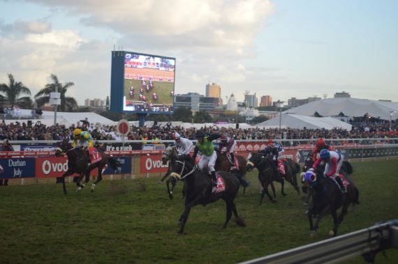 The Conglomerate winning the 2016 Vodacom Durban July