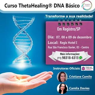 Curso de ThetaHealing DNA Básico em Registro-SP