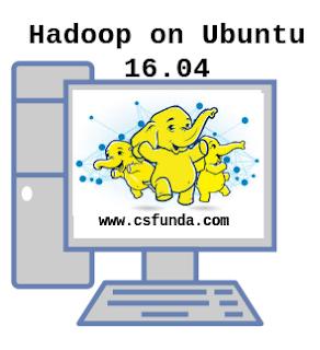 Install hadoop-2.7.3 on Ubuntu 16.04 ~ Crunch BigData