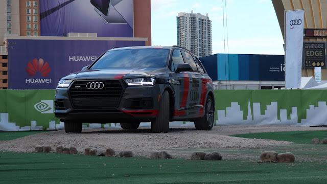 Audi e NVIDIA prometem carro autônomo inteligente - 2020