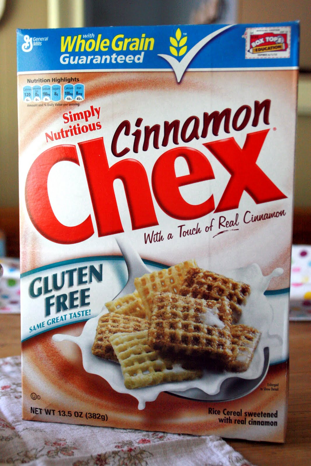 Cooking With Chopin Living With Elmo Snickerdoodle Chex Mix