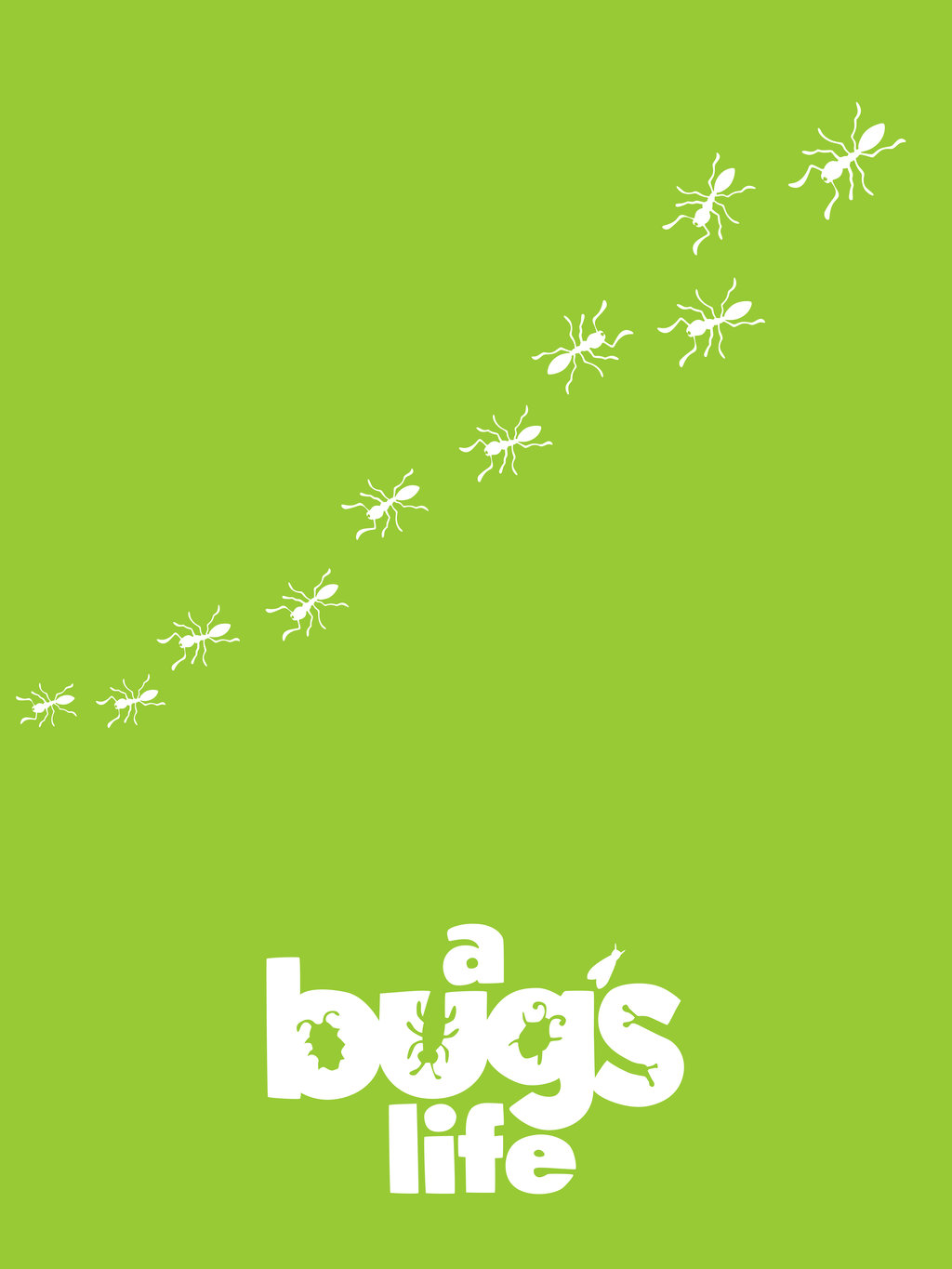It is a photo of Breathtaking A Bug's Life Poster