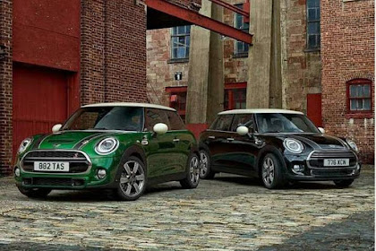 Ini Mini Cooper 60 th Anniversary Special Edition, Traditionally Contemporary Designs