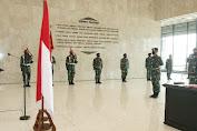 Panglima TNI Pimpin Alih Komando dan Pengendalian Pasukan Pemukul Reaksi Cepat TNI