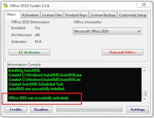Tutorial Cara Aktivasi Microsoft Office 2010 Mudah dan Berhasil