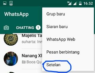 Cara Menyembunyikan Foto Profil di WhatsApp