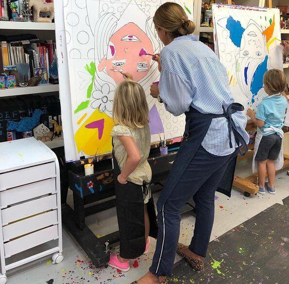 Romero Britto's workshop at Wynwood Walls & Art District in Miami