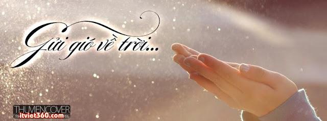 ảnh bìa Facebook đẹp nhất, cover FB gửi gió về trời