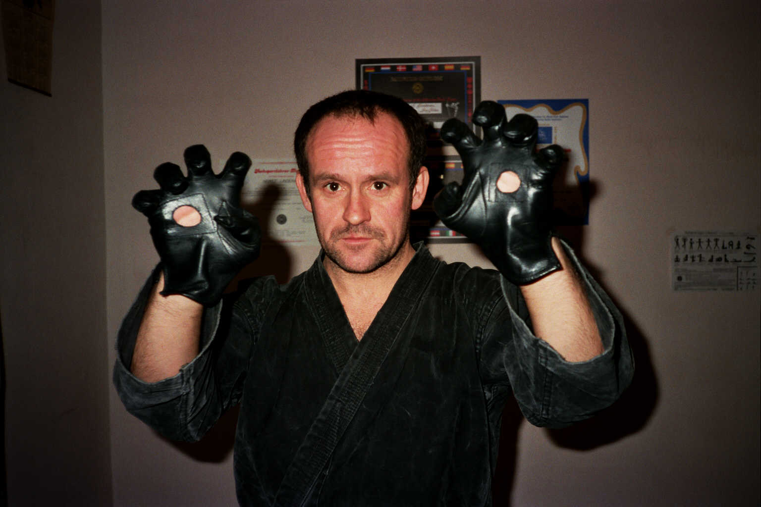 Grandmaster Horst D. Lindenau as 2nd Dan Anti-Terrorkampf 1994
