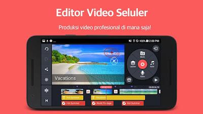 Aplikasi editing video Android : KineMaster