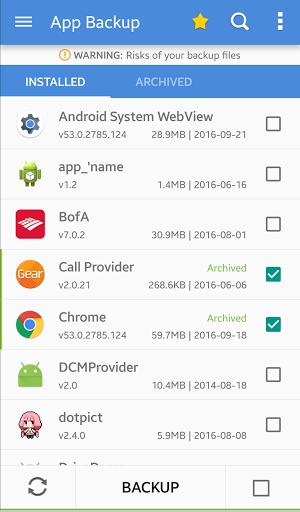 App Backup & Restore APK (Aplikasi Memulihkan Data yang Terhapus)