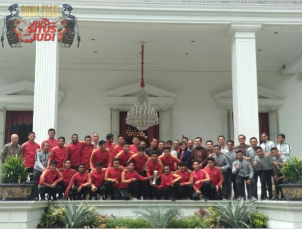 Patroli303 - Jokowi Tambahkan Bonus Untuk Timnas U-22 Sebesar Rp200 Juta