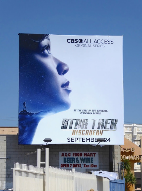 Sonequa Martin Green Star Trek Discovery billboard