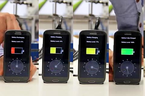 手機充電!以色列新技術30秒搞定