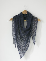 lace shawl wrap knitting pattern
