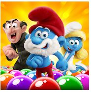 Smurfs Bubble Shooter Story Mod Apk Unlimited Coin and Live