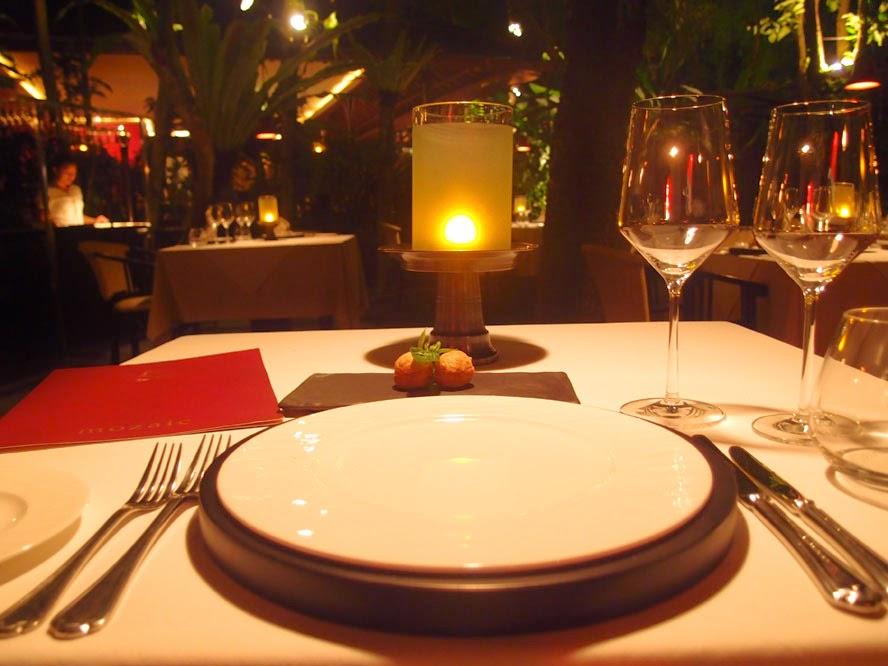 Mozaic Fine Dining Restaurant Ubud Bali