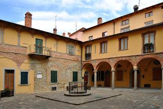 The Chiostro della Cisterna in Monghidoro
