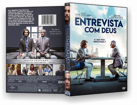 CAPA DVD – Entrevista Com Deus – DVD-R