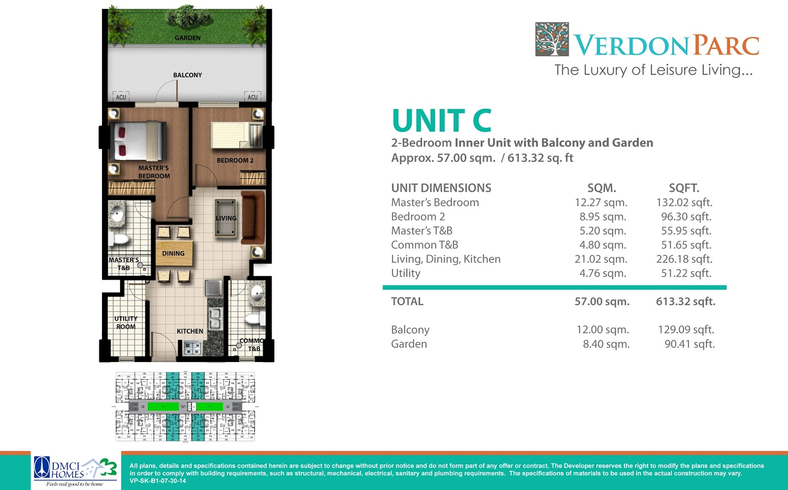 2 Bedroom Inner Martel With Balcony And Garden Davao Best Property Electrical Plan