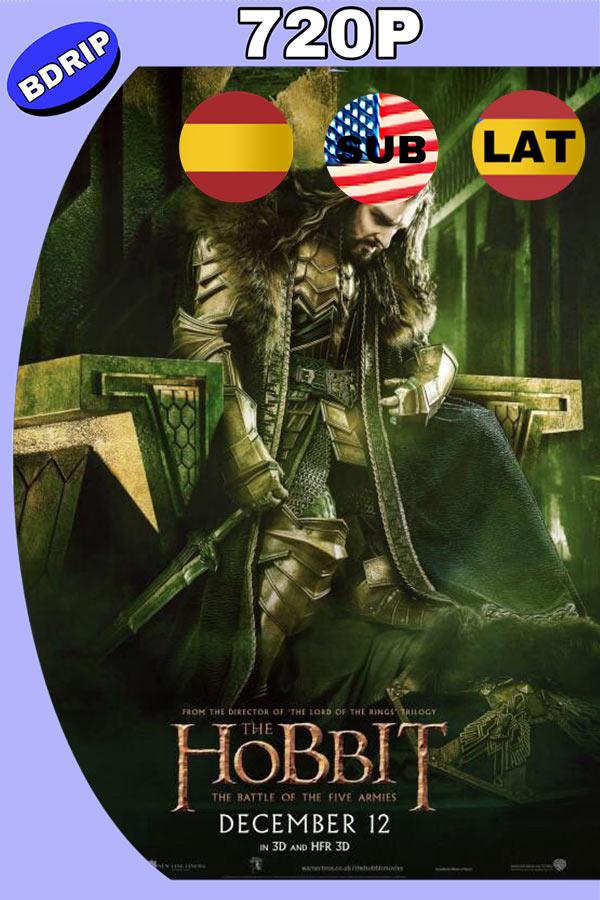 El Hobbit 3 (2014) HD 720p Latino Version Extendida