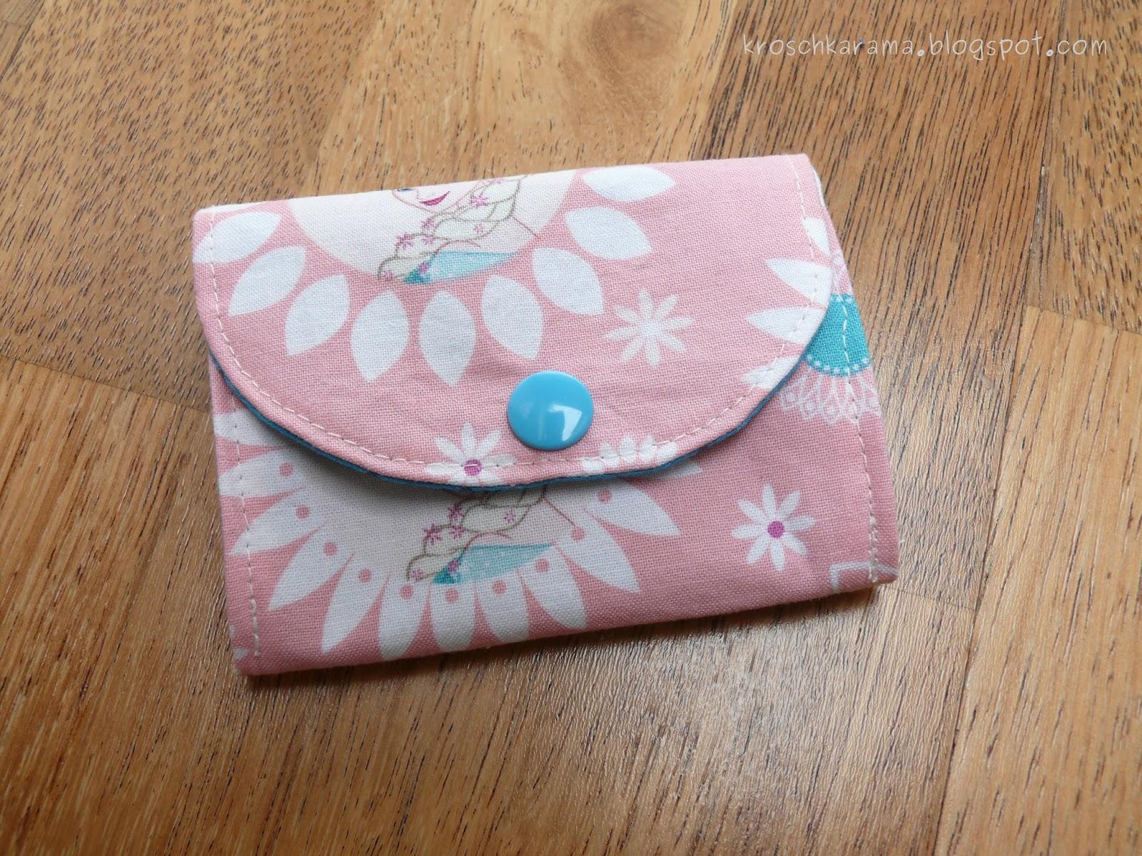 Kroschka: Kleines Portemonnaie für eine kleine Dame