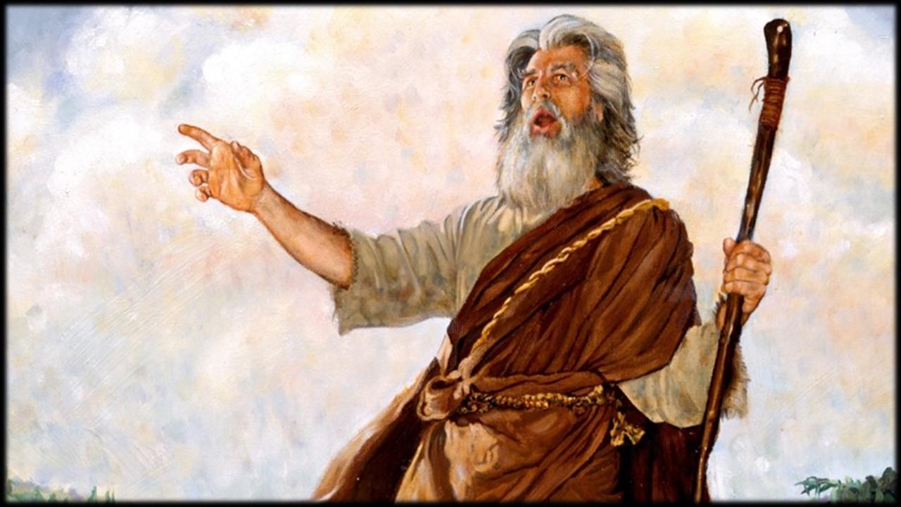 Ilustração de profeta