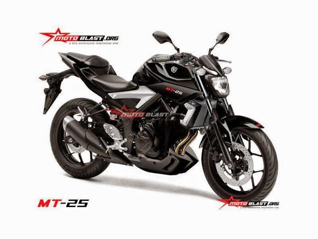 Yamaha MT-25 Bakal Di Lancarkan Di Indonesia