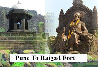 Pune To Raigad Fort Cab