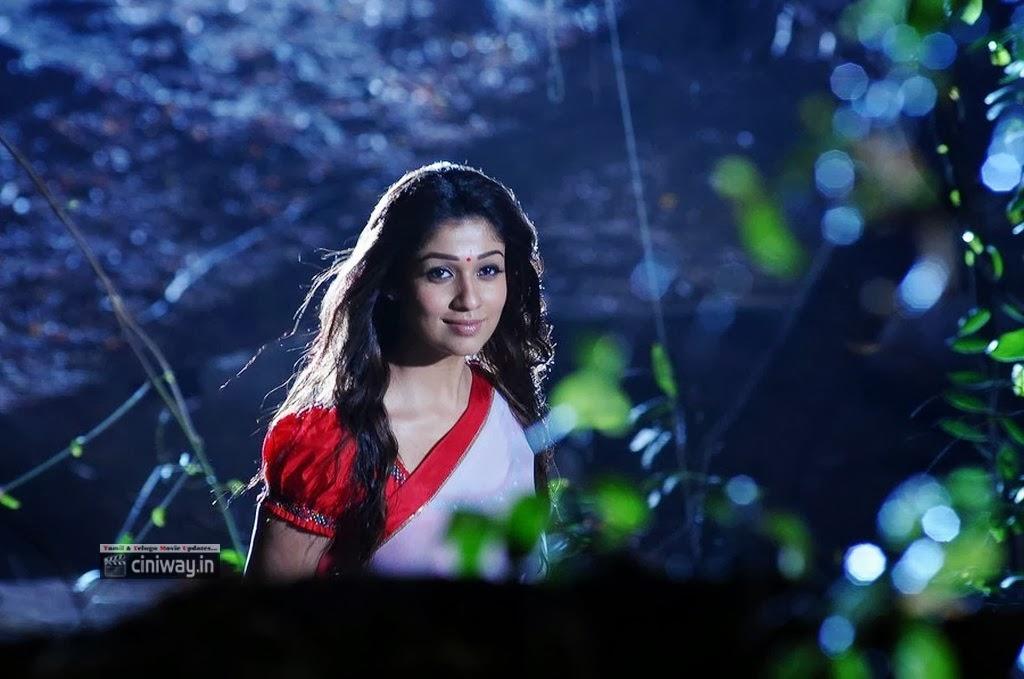 Nayanthara Saree Stills in Krihnam Vande Jagadgurum - www ...
