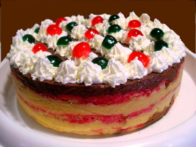 Zuppa inglese in torta