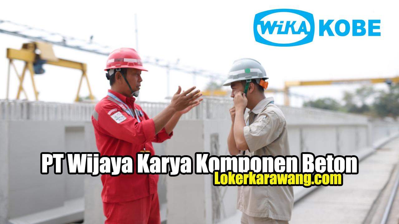 PT Wijaya Karya Komponen Beton Karawang