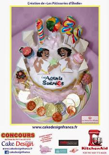 Cake Design Hiver