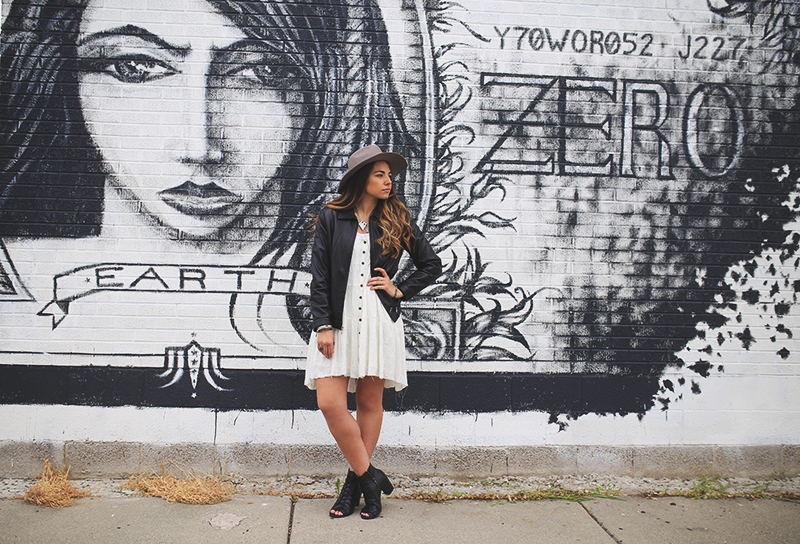 downtown salt lake city, wall murals, style blogger