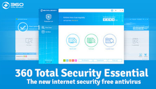 360 Total Security Essential 8.8.0 Build 1020 2017 Free Download