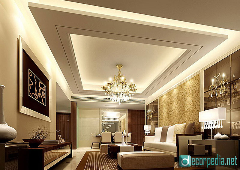 . Latest false ceiling design ideas for modern room 2019